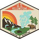 Yellowstone Nationalpark von moosewop