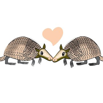 Armadillo Love by Khanagirl