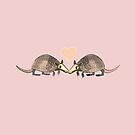 Armadillo Love by Diana-Lee Saville