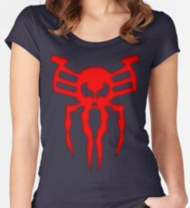 Spider Chest 2099 Comic  Women's Fitted Scoop T-Shirt
