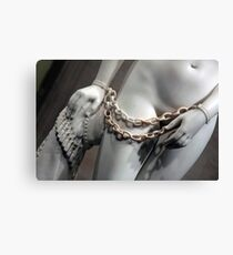 Greek Slave In Bondage Canvas Print