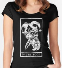 0 - THE FOOL Women's Fitted Scoop T-Shirt