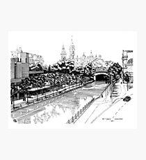 Rideau Canal Ottawa 1971 Photographic Print