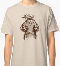Prehistoric Bee Man Mushroom God Classic T-Shirt