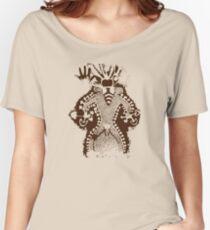 Prehistoric Bee Man Mushroom God Women's Relaxed Fit T-Shirt