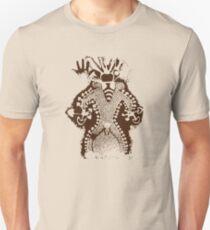 Camiseta ajustada Hombre de la abeja prehistórica Dios de la seta