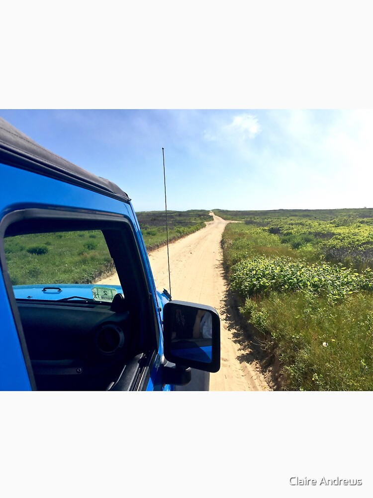 Jeep Wrangler at Nobadeer Beach by Claireandrewss