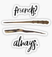 Scorpius and Albus' wands  Sticker