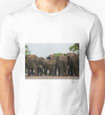 Elephants (Loxodonta africana) T-Shirt