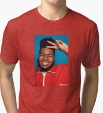Khalid Merchandise Tri-blend T-Shirt