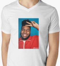 Khalid Merchandise Men's V-Neck T-Shirt