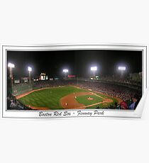 Fenway Park Pano #1 Poster