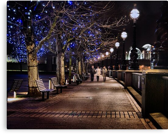 A Stroll Along The Thames by Philip James Filia