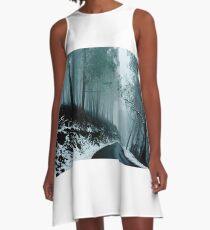 0233  Into a cold dark place   [e] A-Line Dress