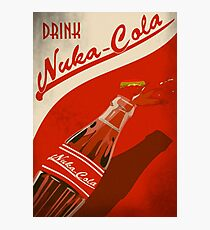 Drink Nuka Cola Poster Photographic Print