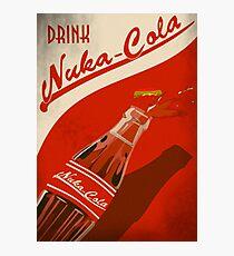 Drink Nuka Cola Poster Photographic Print