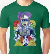 Bad Hair Days Calaveras Mischievous Dead Unisex T-Shirt