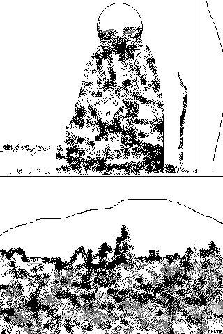sitting mountain 6 by mhkantor