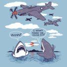 Flying Sharks by wytrab8