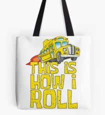 Magic School Bus Art Design Tote Bag