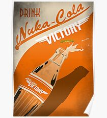 Drink Nuka Cola Victory Poster Poster