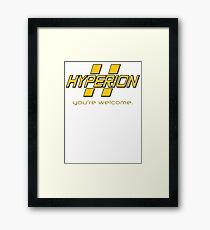 Hyperion. Framed Print