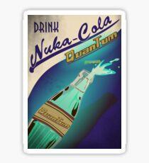 Drink Nuka Cola Quantum Poster Sticker