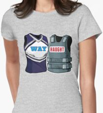 Wayhaught Large Vests Women's Fitted T-Shirt