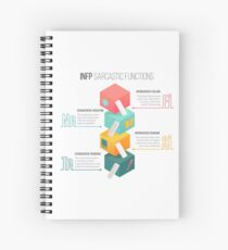 INFP Sarcastic Functions Spiral Notebook