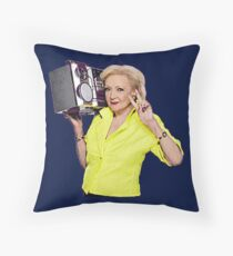 Bett White Throw Pillow