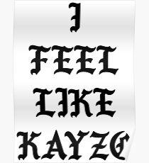 I Feel Like Kayzo Poster