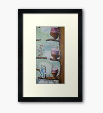 Cakes Up a Tree Framed Print