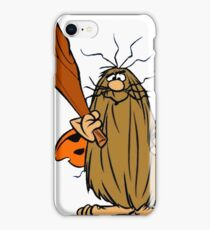 Captain Caveman! iPhone Case/Skin