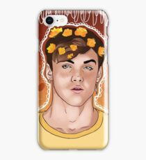 Grayson Yellow Flowers iPhone Case/Skin