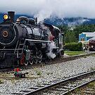 Engine 73  by John  Kapusta