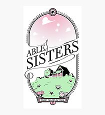 The Able Sisters Photographic Print