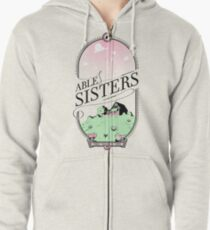 The Able Sisters Zipped Hoodie