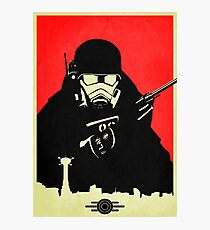 Fallout NCR Ranger Poster Photographic Print