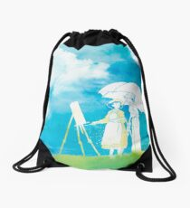 Wind Whispers Drawstring Bag