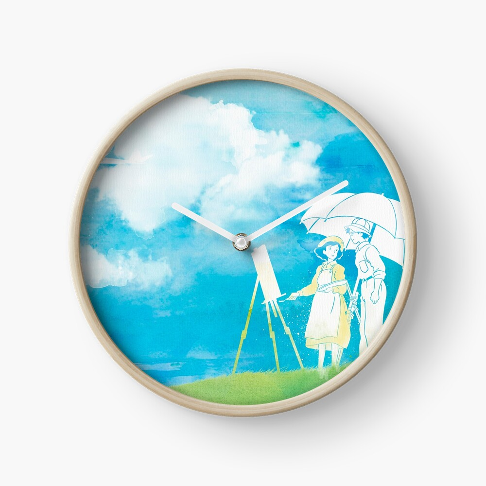 Wind Whispers Clock