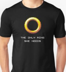 The Only Ring She Needs Unisex T-Shirt