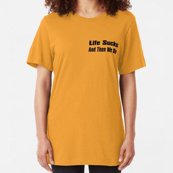 A Bit of Optimism #1 (Small Text) Slim Fit T-Shirt