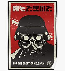 Glory Of Helghan Killzone Poster Poster