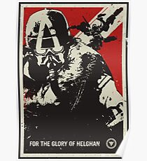 Glory Of Helghan Alternative Killzone Poster Poster