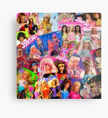 80's barbie Metal Print