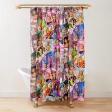 80's barbie Shower Curtain