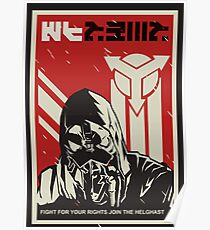 Join The Helghast! Killzone Poster Poster