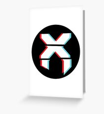 Excision 3D Greeting Card
