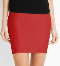 Plain Little Red Dress, shirts (and other stuff) Mini Skirt