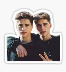 Martinez Twins Ivan Martinez Emilio Martinez Sticker